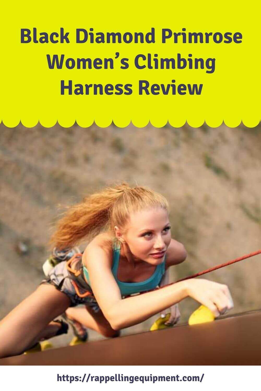 Black Diamond Primrose Women's Climbing Harness